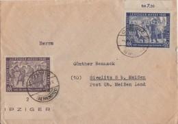 SBZ Brief Mif Minr.198,199 Coswig - Sowjetische Zone (SBZ)