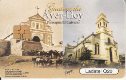 GUATEMALA - Donkeys, Aver-Hoy, Parroquia El Calvario, Chip GEM3.1, Used - Guatemala