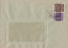 Bizone Brief Mif Minr.37I, 54I  17.8.48 - Bizone