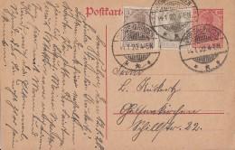 DR Ganzsache Zfr. Minr.84II, 102 Grossheringen 14.1.20 - Deutschland