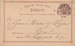 DR Ganzsache Hufeisenstempel Coeln 30.3.74 - Deutschland