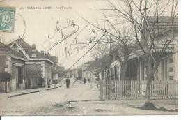 46 - SOULAC-SUR-MER - RUE TOUCHE  ( Animées - P. JEANNEAU , SERRURIE ) - Soulac-sur-Mer