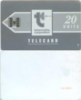 Telefonkarte Malta - Werbung - Telemalta - Grau  - 20 Units - Malta