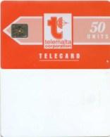 Telefonkarte Malta - Werbung - Telemalta - Orange  - 50 Units - Malta