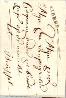 Lierre, Brief Nach Brüssel, 1753, österreichische Niederlande, Herzogtum Brabant, Luxus-Brief ! - 1714-1794 (Oesterreichische Niederlande)