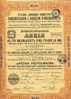 RUSSIE /  S. A. RUSSE DE L'INDUSTRIE HOUILLERE ET METALLURGIQUE DANS LE DONETZ 1907 - Russie