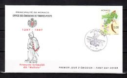 """Enveloppe 1er Jour De 1996 """" VEGETAUX NATIONAUX """" N° YT 2081. Parfait état. FDC - FDC"""