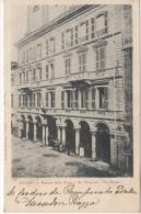 ITALIE  CPA 1900 - CUENO - Via Roma - Palazzo DELLE POSTE E DEI TELEGRAFI - POSTE ET TELECOMMUNICATION - Cuneo