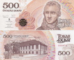 Hungary - 500 Dukat 2016 - 2020 Local Money UNC Ukr-OP - Hungary