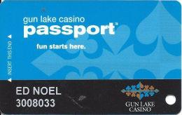 Gun Lake Casino - Wayland, MI - Slot Card - Casino Cards