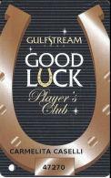 Gulfstream Park - Hallandale Beach, FL - Slot Card - 11mm Mag Stripe - Casino Cards