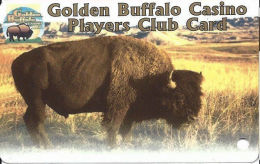 Golden Buffalo Casino - Lower Brule, SD - Slot Card (BLANK) - Casino Cards