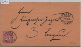 1875 Sitzende Helvetia/Helvétie Assise 38/30 - Stempel: Bern Nach Langnau 7.XI.75 - 1862-1881 Sitzende Helvetia (gezähnt)