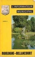 L´ Informateur Municipal N°2 - 1965  Boulogne-Billancourt - Other