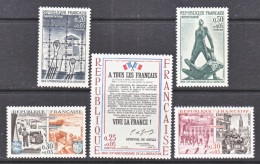 FRANCE  B 377-81  **   *  LIBERATION  FROM  NAZIS - France