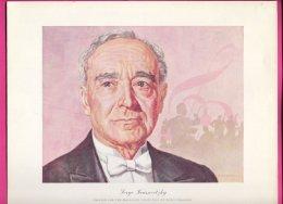 PIC00013 Magnavox Painting Of Conductor Serge Koussevitzky. - Verzamelingen