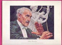 PIC00016 Magnavox Painting Of Conductor Arturo Toscanini. - Verzamelingen