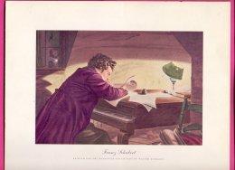 PIC00018 Magnavox Painting Of Composer Franz Schubert. - Verzamelingen