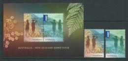 Australia 2015 WWI Anzac Set 2 + Miniature Sheet MNH - Nuovi