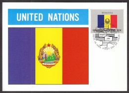United Nations New York 1986 / Flags / MC / Romania - Sonstige
