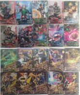 Kamen Rider : 10 Japanese Trading Cards - Trading Cards