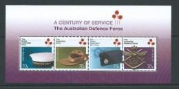 Australia 2014 Defence Forces Anniversary Miniature Sheet MNH - Nuovi