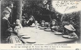 75 PARIS - LA CRISE DES LOYERS - Fédération Des Locataires - Le Repas Des Enfants - Ed. ELD - Autres