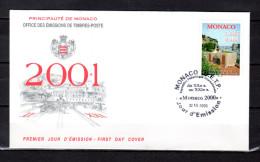 """Enveloppe 1er Jour De 2000 2001 """" 50 ANS DU MUSEE POSTAL """" N° YT 2279. Parfait état. FDC - FDC"""
