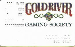 Gold River Casino Laughlin NV - Slot Card - PPC On Reverse - Casino Cards