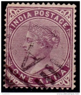 India, 1882-87, Queen Victoria, 1a, Scott# 38, Used - India (...-1947)