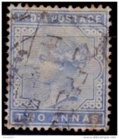 India, 1882-87, Queen Victoria, 2a, Scott# 40 Used - India (...-1947)