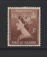 Tokelau Mi 4 Coronation Queen Elizabeth II 1953 - MH - Tokelau