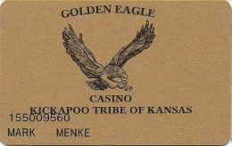 Golden Eagle Casino Horton, KS - 1st Issue Slot Card - 277867 Over Mag Stripe - Casino Cards