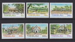 Tokelau Mi 117-122 Public Buildings And Churches - Administration Center - Atafu - Nukunono - Fakaofo - Church 1985 ** - Tokelau