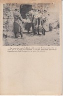Guerre 1914 - Transport De Blessé Sur Chaise Brancard  : Achat Immédiat - Guerre 1914-18