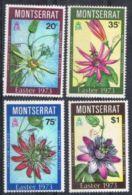 Montserrat SG309-312 1973 Easter Set 4v Complete Unmounted Mint - Montserrat
