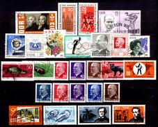 Germania-A00151: Valori Emessi Nell'anno 1963 (++/o) MNH/Obliterated - Privi Di Difetti Occulti. - DDR
