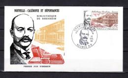 "Enveloppe 1er Jour De 1982 "" BIBLIOTHEQUE DE BERNHEIM "". N° YT 465. Parf état Mais 1 FERMEE. FDC - FDC"