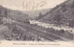 Vallée De L'Amblève - La Ligne De L'Amblève Et Le Fond De Quareux (précurseur, 1903) - Amel