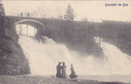 Cascade De Coo - Animée, Trois Dames (1911, Desaix, Pour Braine L'Alleud) - Trois-Ponts