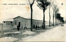N°51223 -cpa Ouges (21) -aérodrome Militaire-les Casernes- - Aerodromes