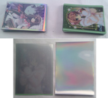 DC II & Lycèe  : 23 + 19  :  15 + 15 + 5  Japanese Sleeves - Trading Cards