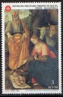 PIA - SMOM - 2000 - Natale - Adorazione Dei Pastori -    (UN  641) - Sovrano Militare Ordine Di Malta