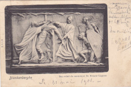 Blankenberghe - Bas-relief Du Monument De Bruyne-Lippens (E V, Précurseur, 1901, Congo) - Blankenberge