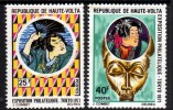Haute Volta N° 248 / 49 XX Eposition Philatlique à Tokyo.  Les 2 Valeurs Sans Charnière TB - Upper Volta (1958-1984)