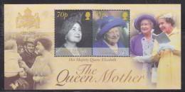 British Antarctic Territory 2002 Queen Mother M/s  ** Mnh (32558) - Brits Antarctisch Territorium  (BAT)