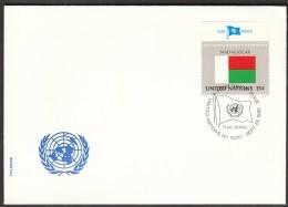 United Nations New York 1980 / Flags / Madagascar