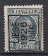 BELGIË - PREO - 1926 - Nr 145 A - LIEGE 1926 LUIK - (*) - Typos 1922-31 (Houyoux)