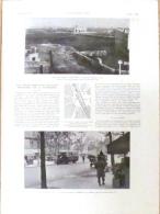 """1927 Paris Transformations Des Anciennes Barrières En Places """"barrière Blanche,barrière Montmartre,barrière Monceau"""" - Old Paper"""
