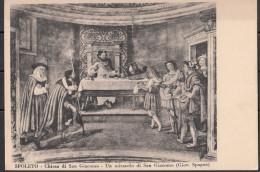 Perugia Spoleto Chiesa Di San Giacomo - Un Miracolo Di S. Giacomo (G. Spagna) - Heiligen